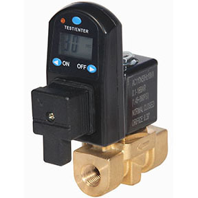 "1/2"" FPT Digital Timer Drain 230 psi 10MM Orifice 120 Volt"