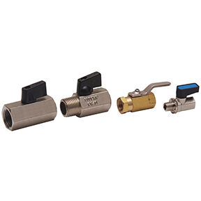 Mini Brass Ball Valves