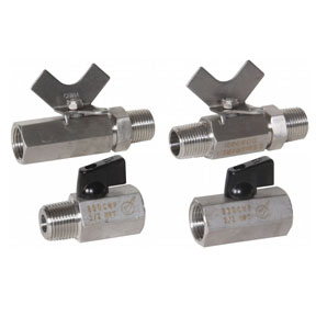 Mini Stainless Steel Valves